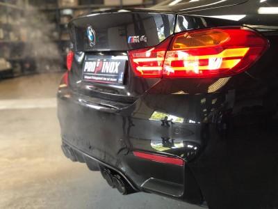 Echappement inox BMW M4