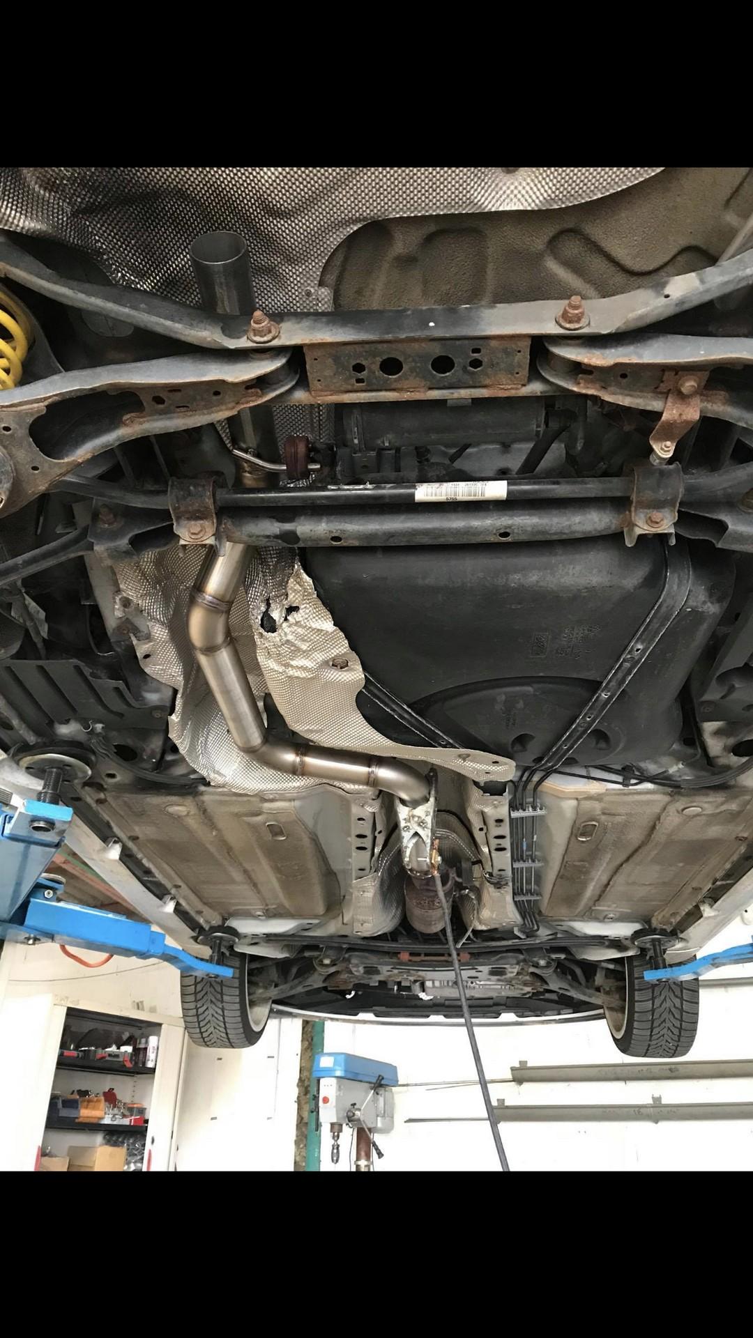 Proinox28 - echappement Ford Focus RS