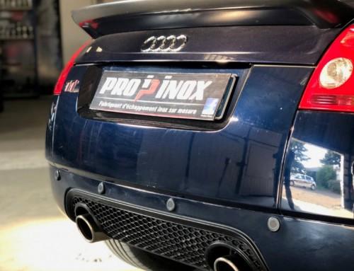 Échappement inox Audi TT MK1