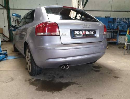 Échappement inox Audi A3 2l TDI