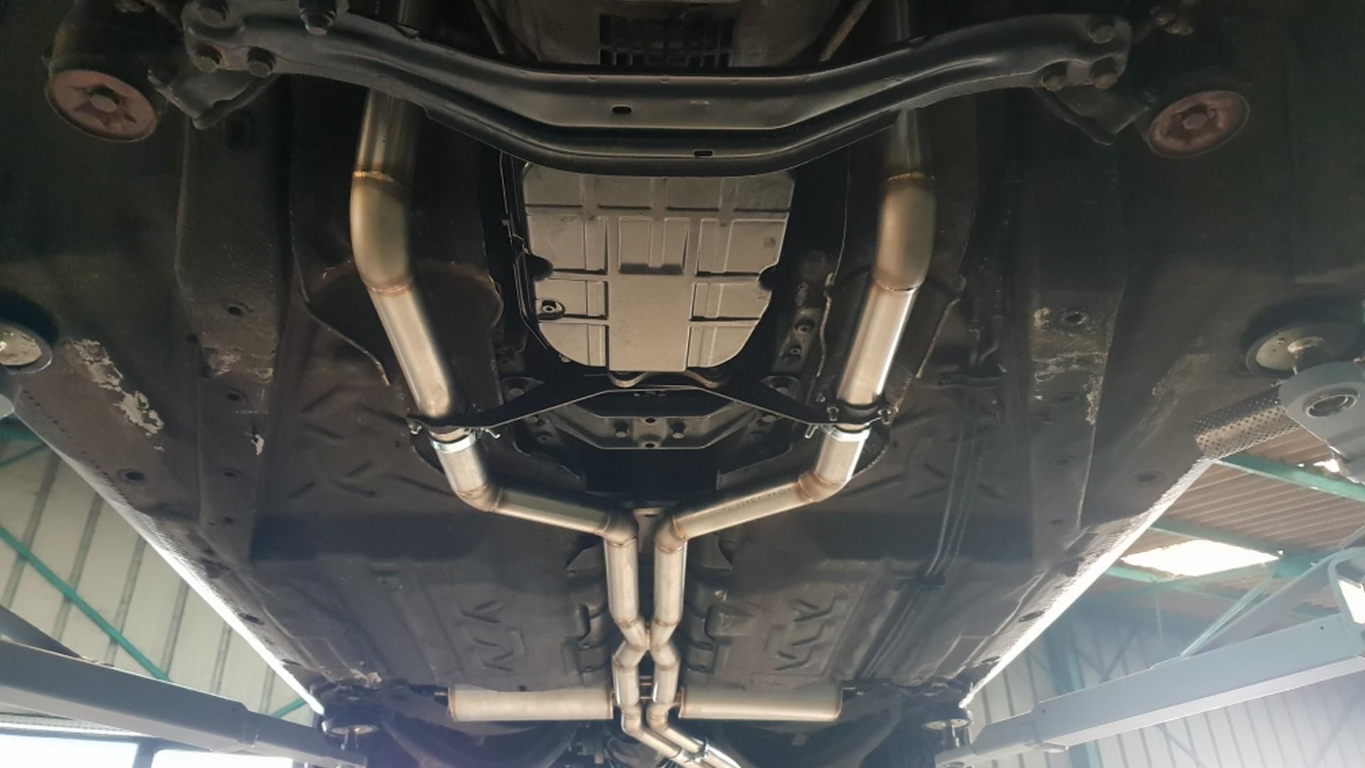 Proinox28 - échappement inox Mercedes 380sec