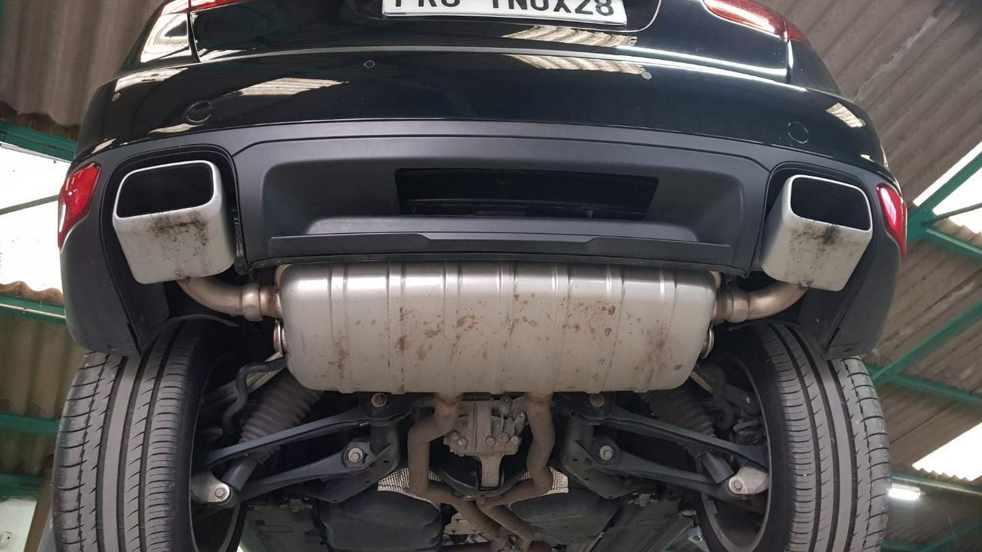 Proinox28 - echappement inox Porsche Cayenne S V8