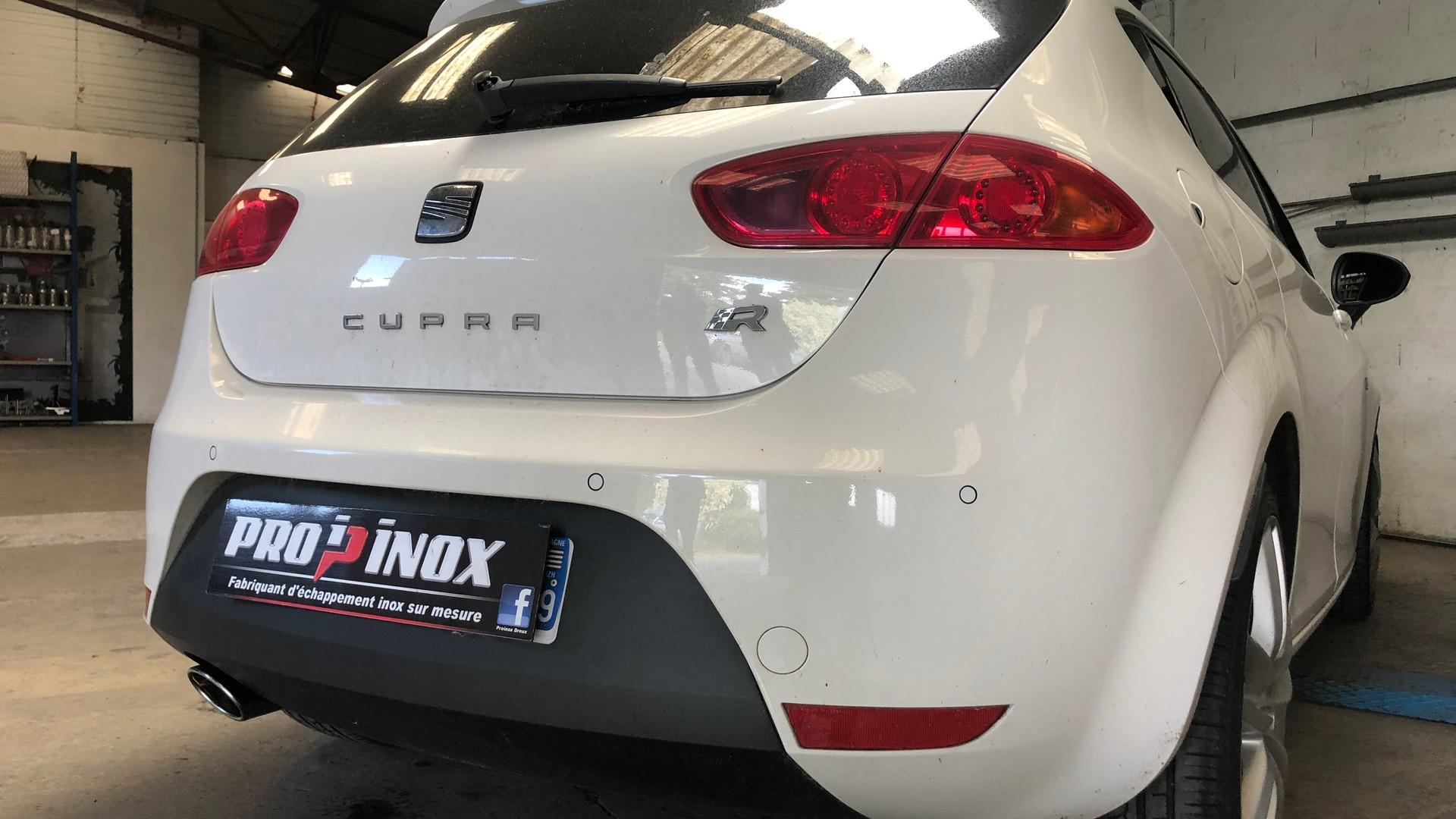 Proinox28 - echappement inox Seat Leon Cupra R