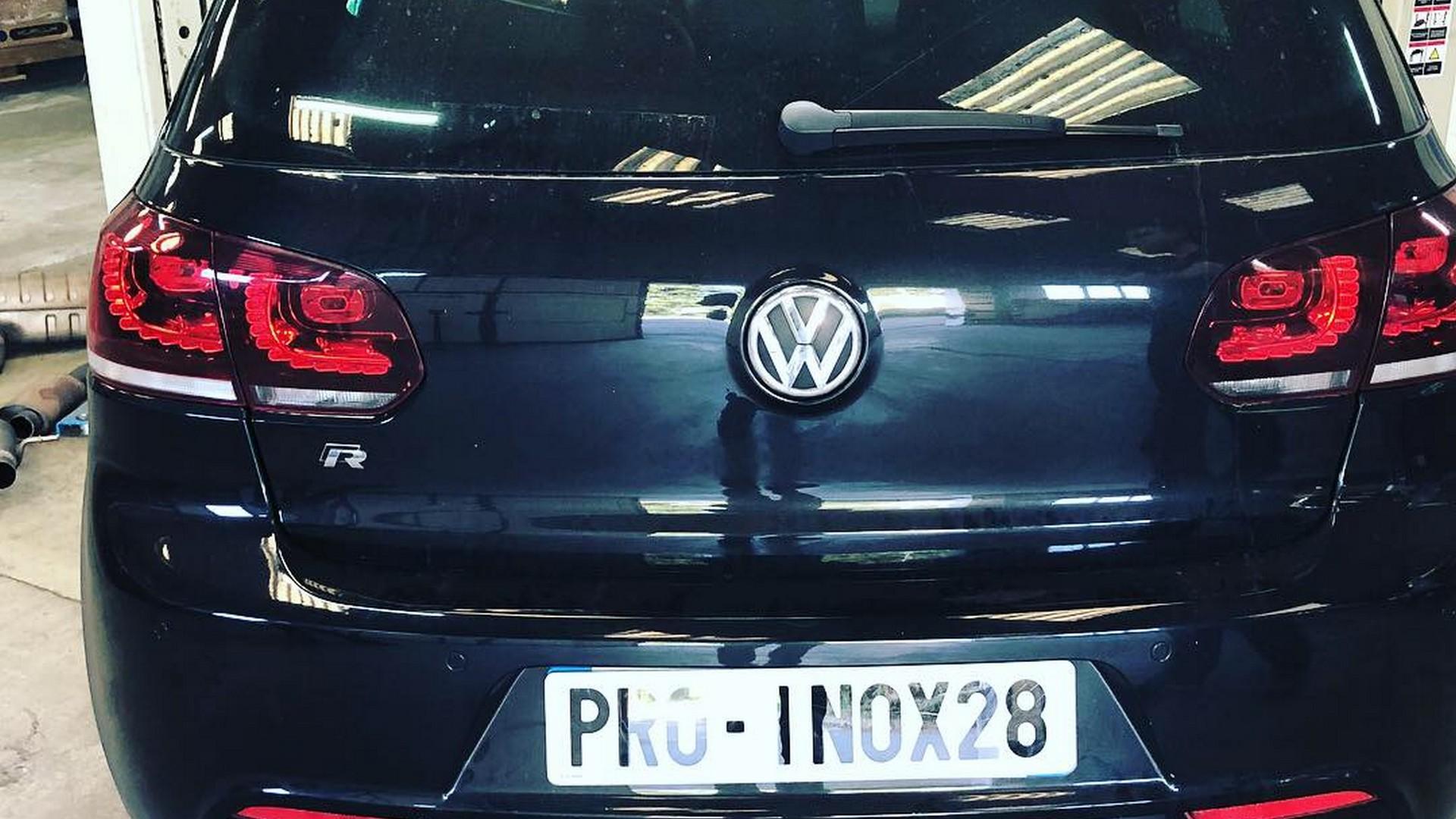 Proinox28 - echappement inox Volkswagen Golf 6 R