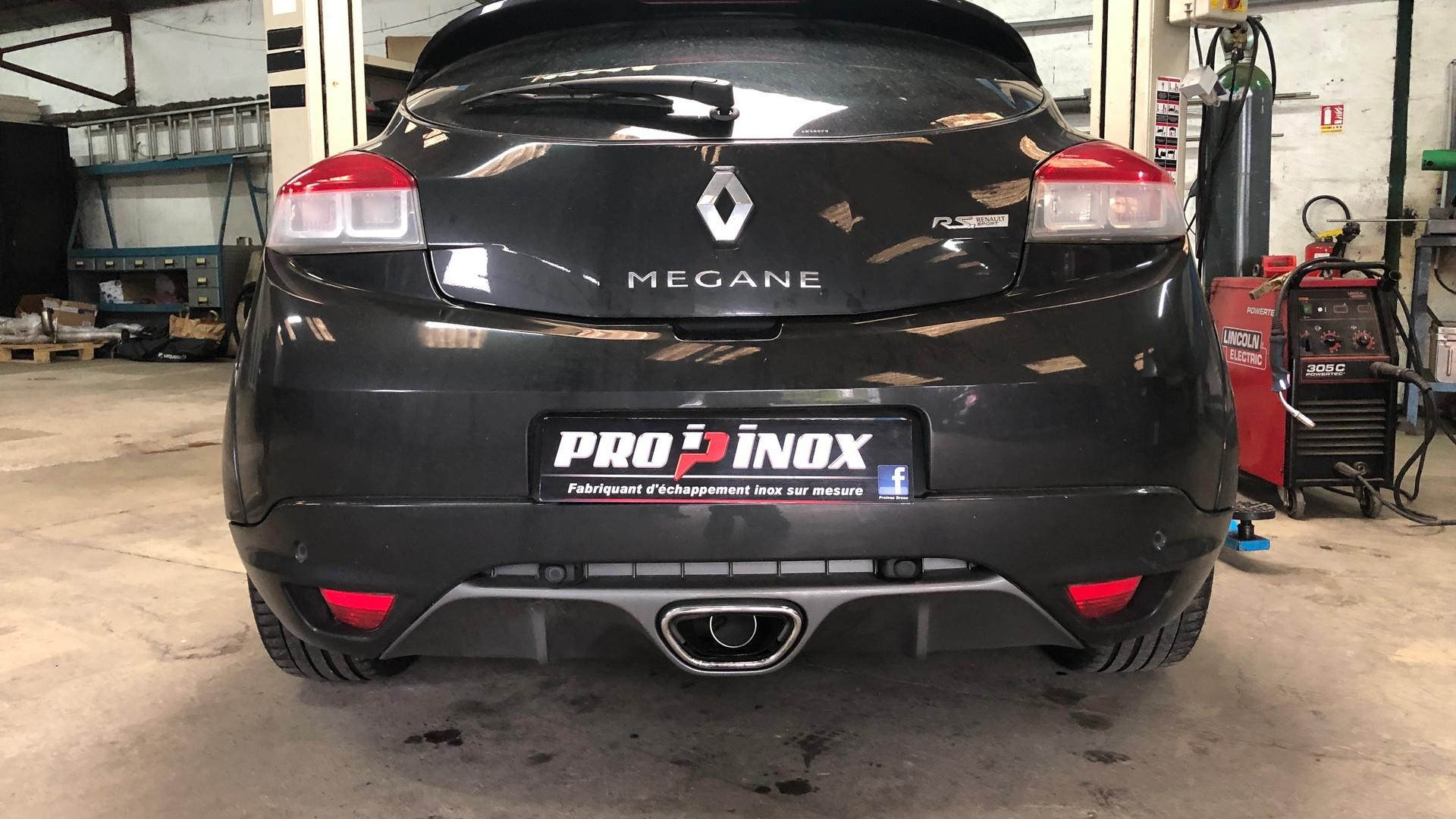 Échappement inox Renault Megane 3 RS