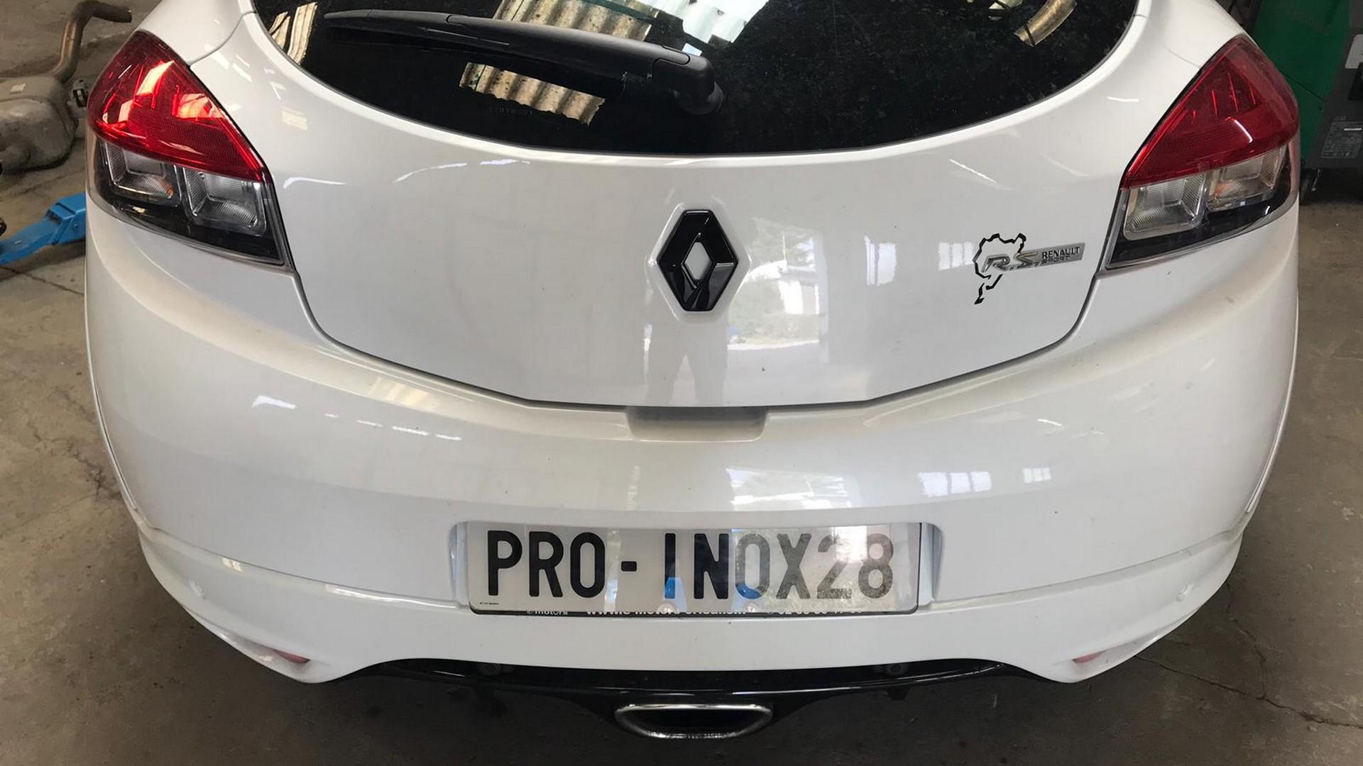 Proinox28- Échappement Renault Megane 4 RS