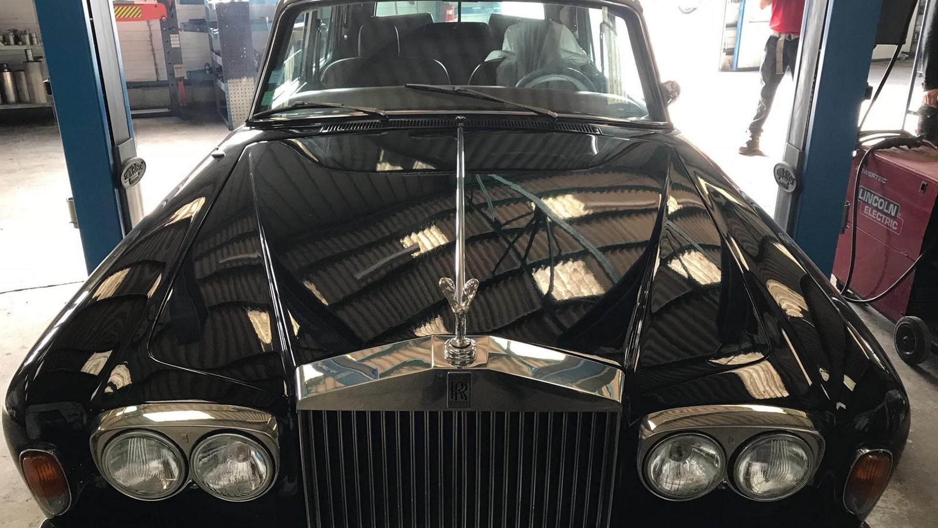 Proinox28- Échappement Rolls Royce Silver Shadow