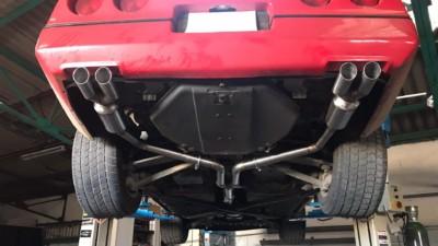 Proinox28- Échappement inox Corvette C4 V8