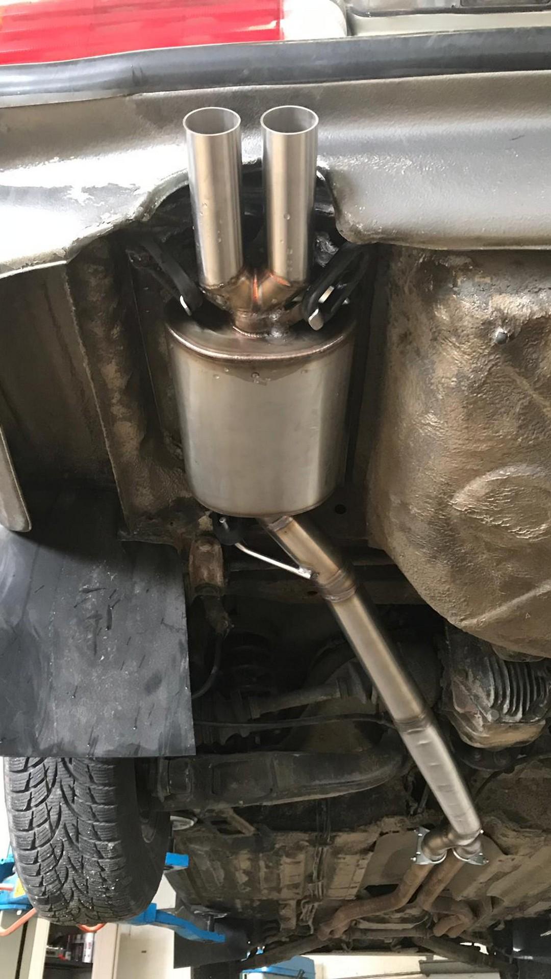 Proinox28- Échappement inox Mercedes 450 SLC