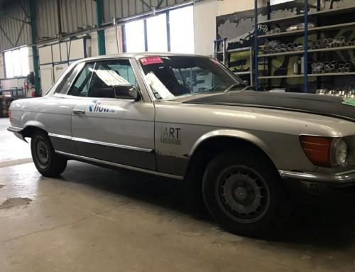 Échappement inox Mercedes 450 SLC