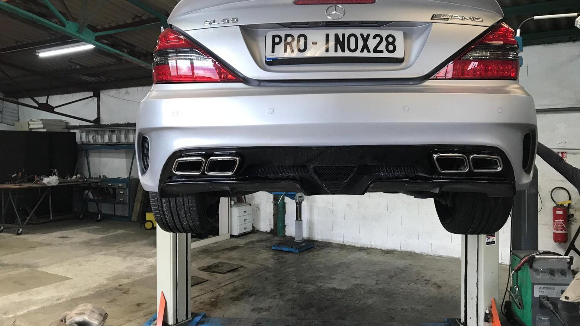 Proinox28- Échappement inox Mercedes SL55 AMG
