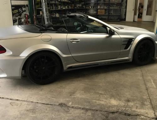 Échappement inox Mercedes SL55 AMG