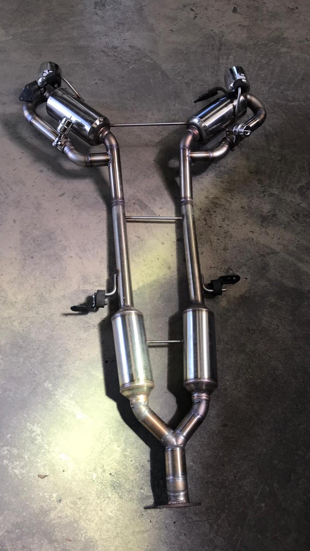 Proinox28- Échappement inox Nissan 370Z