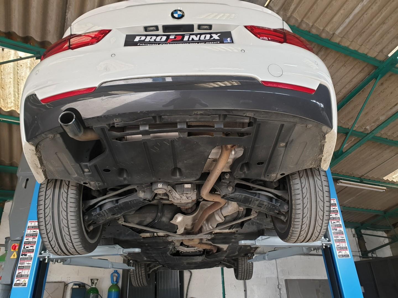 Proinox28 - Echappement inox - BMW 420D F36