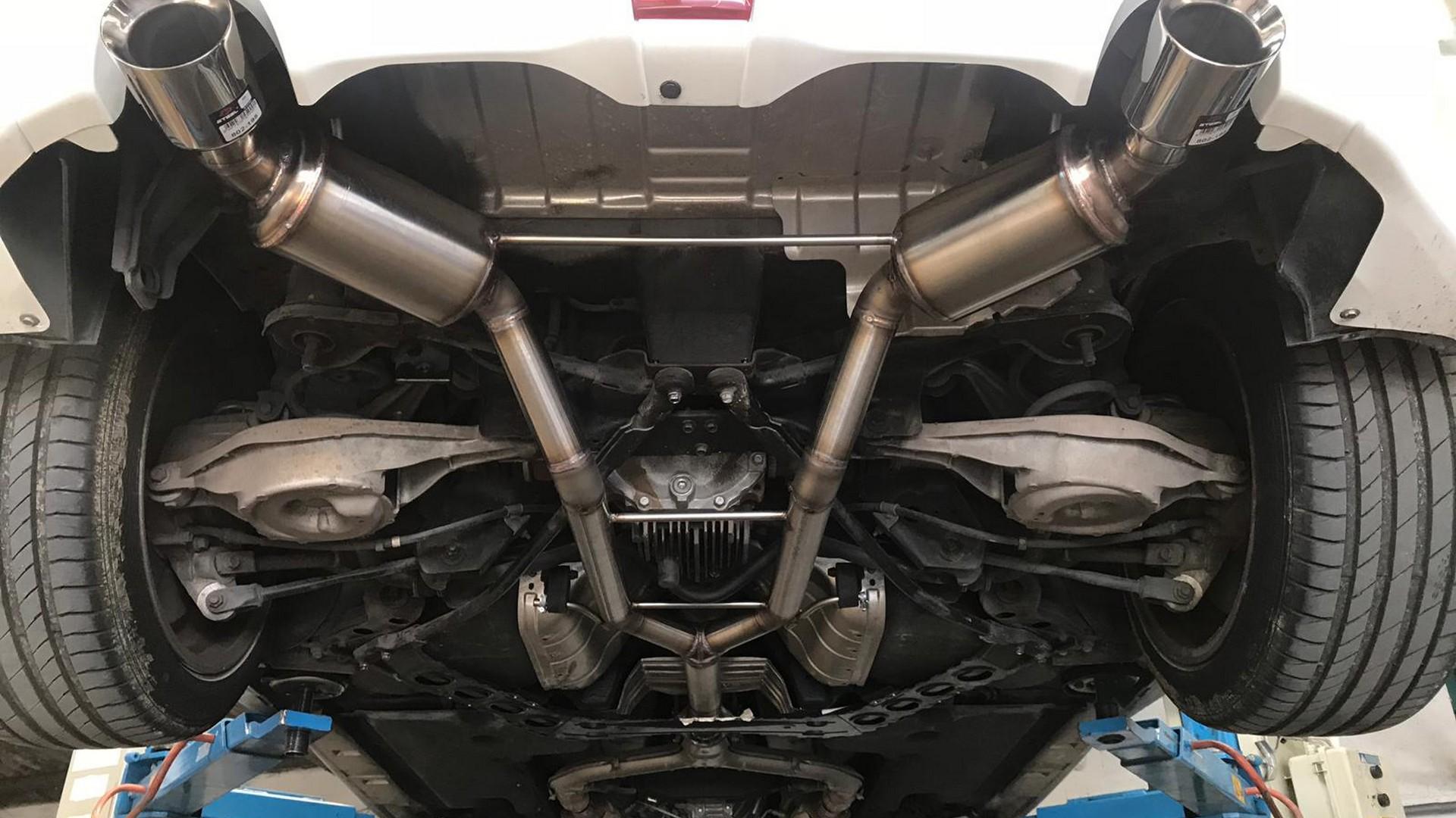 Proinox28 - Échappement inox Nissan 370Z