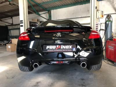 Proinox28 - Echappement inox - Peugeot RCZ R 1.6thp