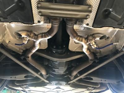 Proinox28 - Échappement inox Mercedes SL 500