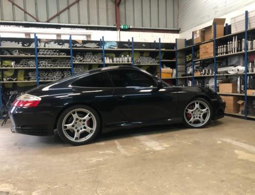 Échappement inox Porsche 996 Carrera 4S