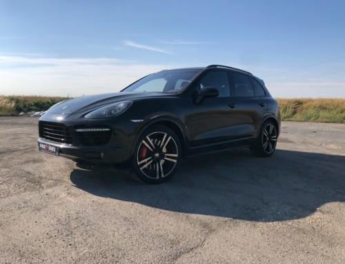 Échappement inox Porsche Cayenne Turbo