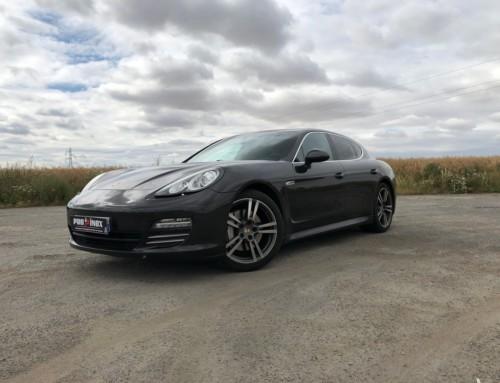 Échappement inox Porsche Panamera 4S