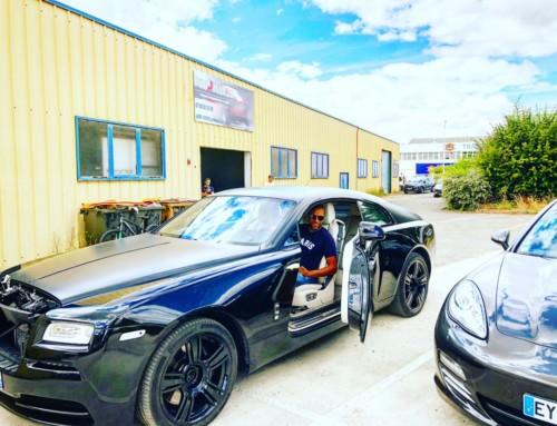 Échappement inox Rolls Royce Wraith 2016
