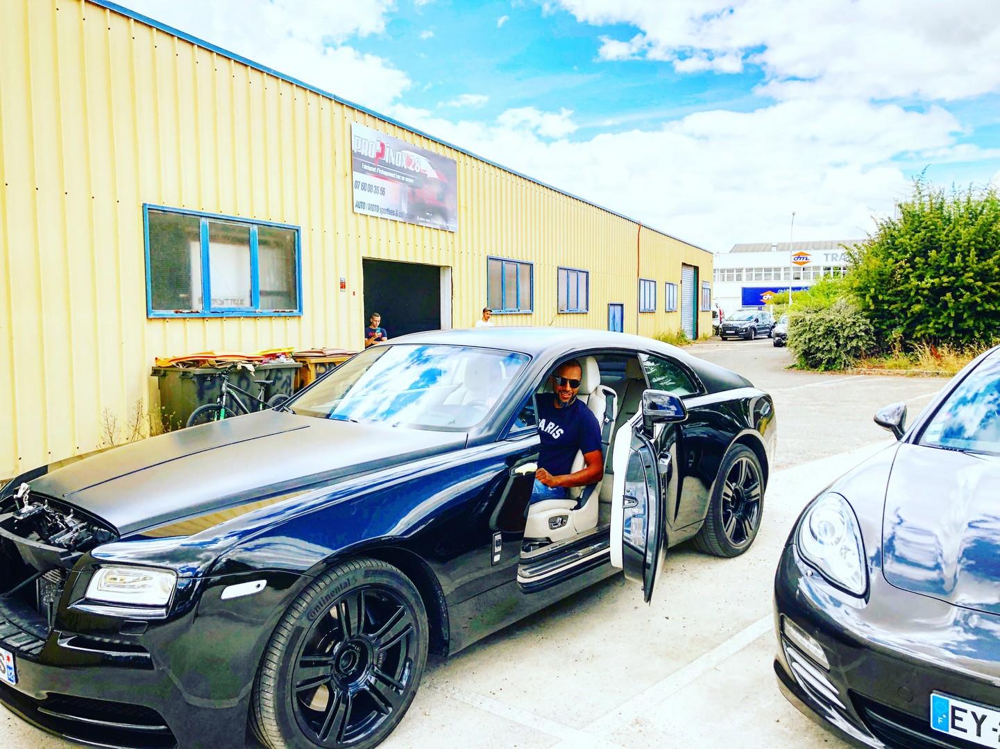 Proinox28 - Échappement inox Rolls Royce Wraith