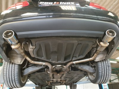 Proinox28 - Échappement inox Mercedes Class E350