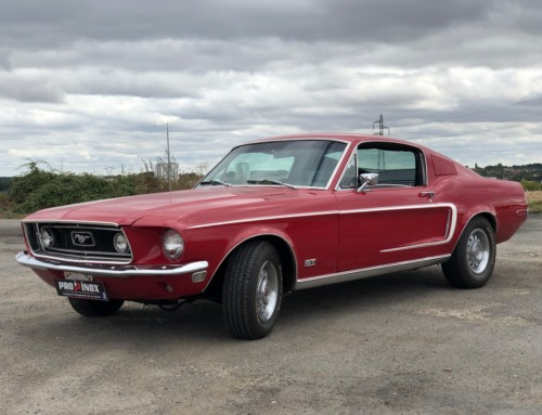 Échappement inox Ford Mustang Fastback 390 GT