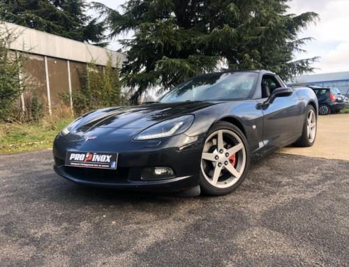Échappement inox Chevrolet Corvette C6