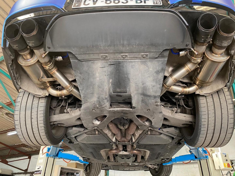 Proinox28 - Échappement inox BMW M6 V8 BITURBO