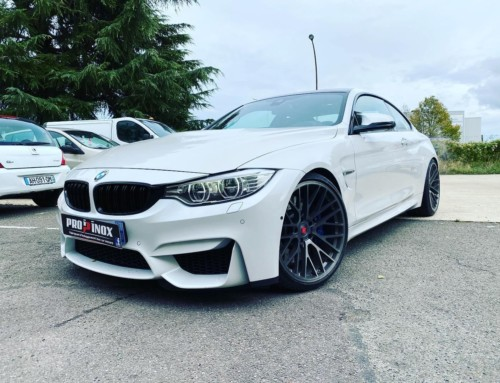 Échappement inox BMW M4