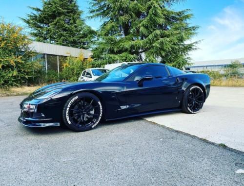 Échappement inox Corvette C6