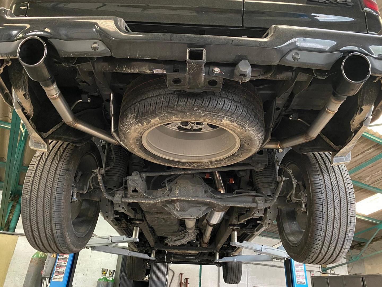 Proinox28 - Échappement inox Dodge Ram 5.7L V8 Black Edition