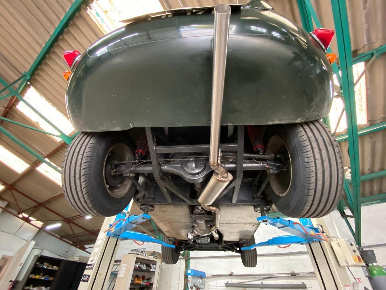 Proinox28 - Échappement inox Jaguar Type D Replica