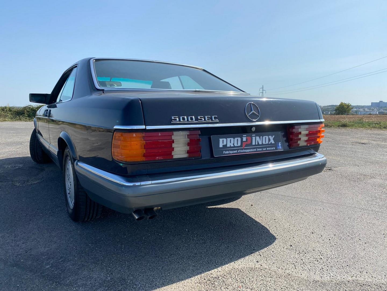 Proinox28 - Échappement inox Mercedes 500sec