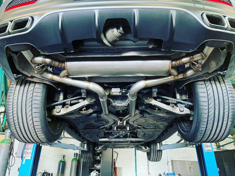 Proinox28 - Échappement inox Mercedes GLE 63AMG S