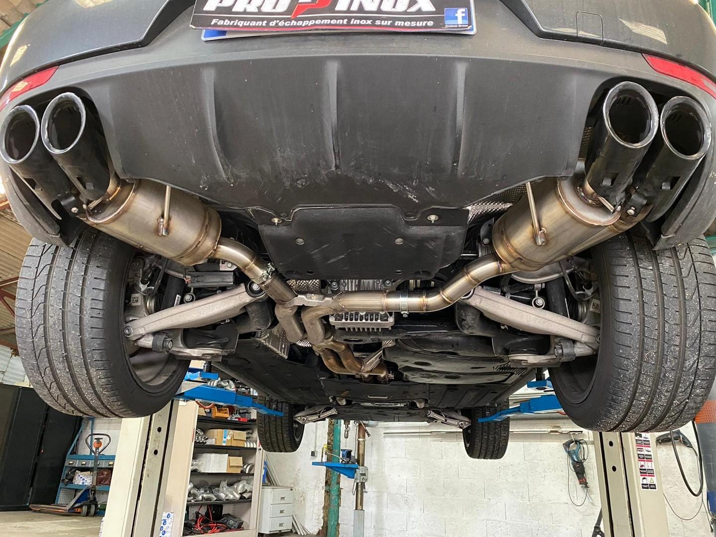 Proinox28 - Échappement inox Porsche Macan S