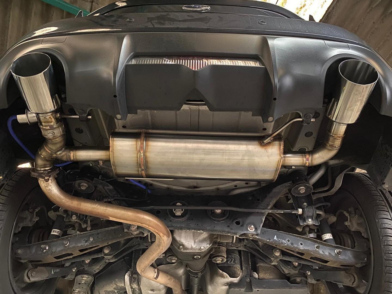 Proinox28 - Échappement inox Toyota GT86
