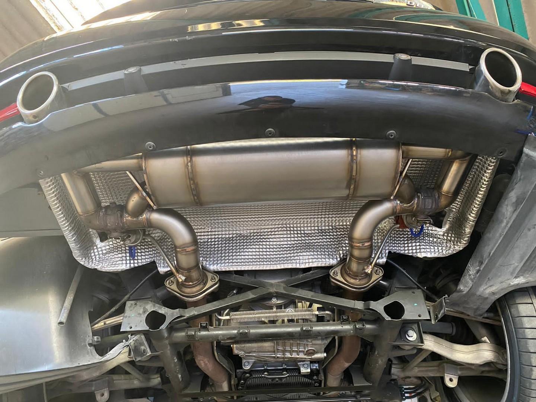 Proinox28 - Échappement inox Aston Martin DB9