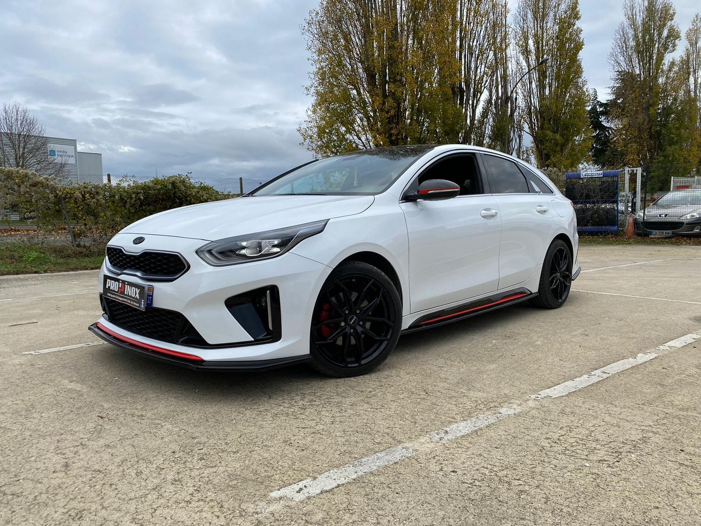 Proinox28 - Échappement inox Kia Proceed 1.4 Turbo
