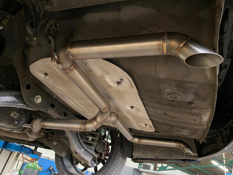 Proinox28 - Échappement inox Kia Proceed 1.4 Turbo