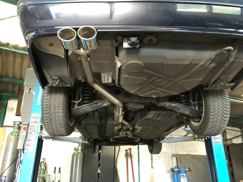 Proinox28 - Échappement inox Mercedes Class E280 V6