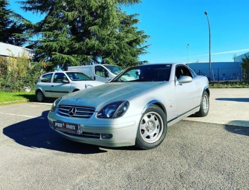 Échappement inox Mercedes SLK200