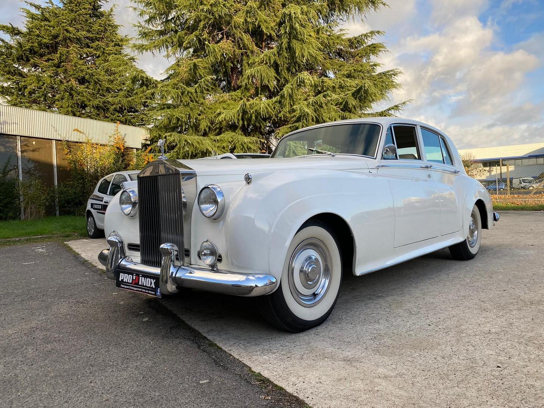 Proinox28 - Échappement inox Rolls Royce Silver Cloud 2