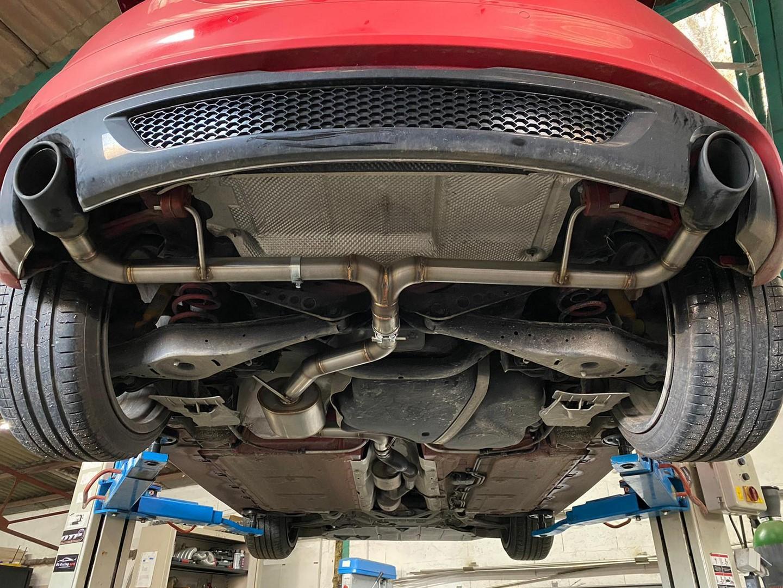 Proinox28 - Échappement inox Audi TT MK2