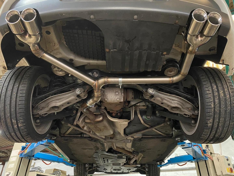 Proinox28 - Échappement inox BMW 120D