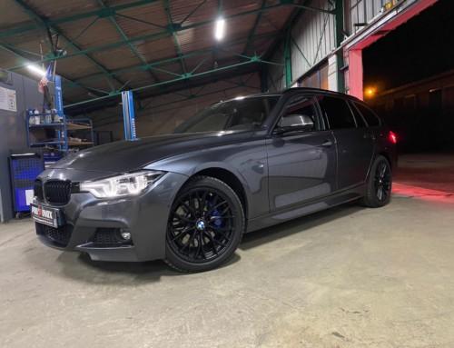 Échappement inox BMW 325d