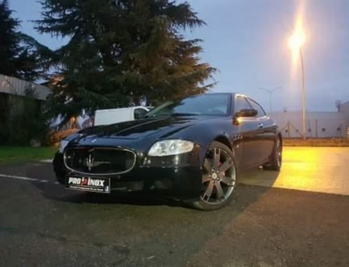 Échappement inox Maserati Quattroporte 4.2L V8