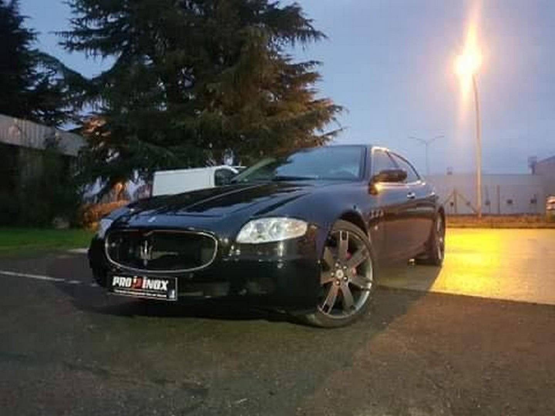 Proinox28 - Échappement inox Maserati Quattroporte V8_3