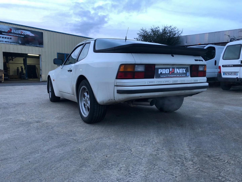 Proinox28 - Échappement inox Porsche 944